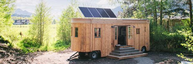 Wohnen in der freien Natur dank Tiny House