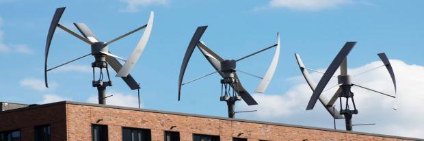 Kleinwindkraftanlagen in Hamburg