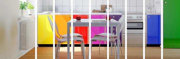 Farbwelten in der Küche | © Robert Kneschke - Fotolia.com