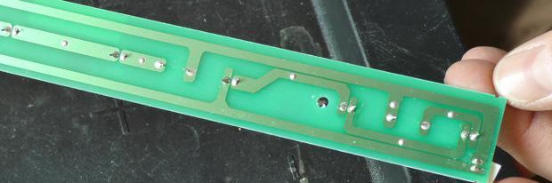 LED-Lichtstreifen für einen Haier Kühlschrank