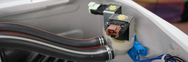 Magnetventil reparieren - Magnetventil in der Waschmaschine