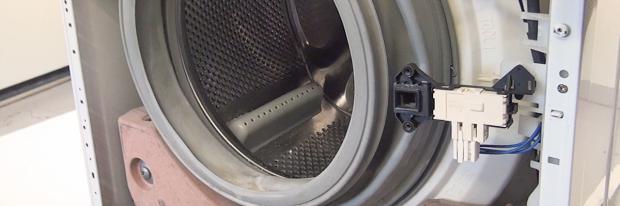 Waschmaschine mit offener Front