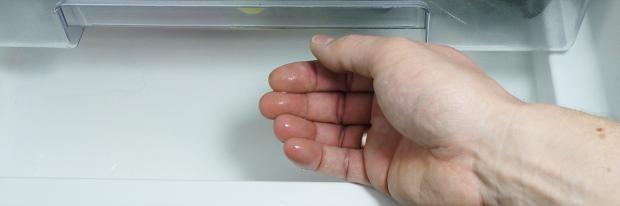 Wasser im Kühlschrank