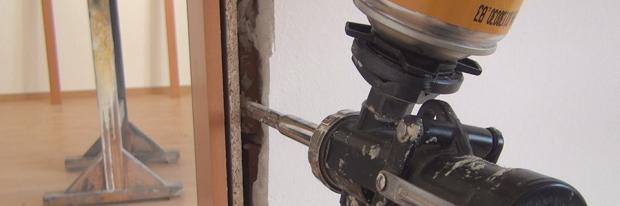 Tür einbauen - Türzarge einbauen