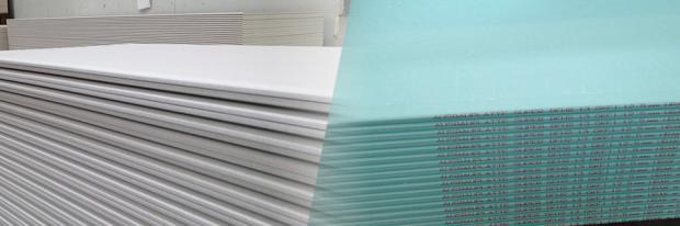 Gipskartonplatten-Arten - Header