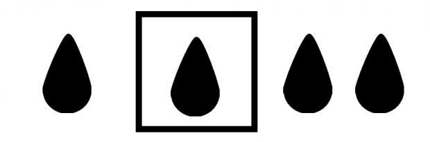 Drei Zeichen der IP Schutzklassen