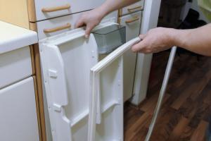 Kühlschrankdichtung wechseln - Türdichtung