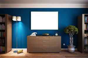 Drei Ideen für die Wandgestaltung: von minimalistisch bis pompös