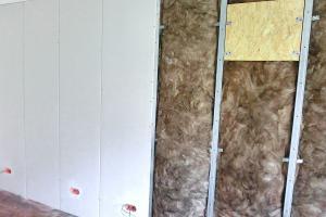 Vorsatzschale als Schallschutz- und Installationswand