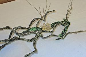Dekorative Weidenspirale ganz einfach selber flechten