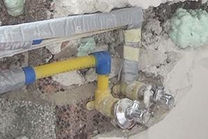 Wasserleitung verlegen - Wasserrohre kürzen