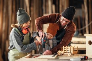 Heimwerken mit Kids: So können kleine Selbermacher mitmachen