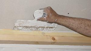 ratgeber fl chen im trockenbau streichen und versch nern. Black Bedroom Furniture Sets. Home Design Ideas