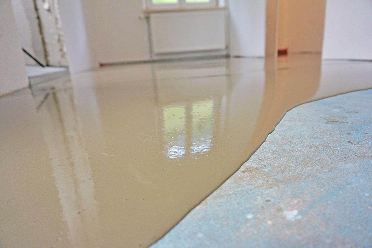 Fußboden In Garage Ausgleichen ~ Boden ausgleichen grundlagen anleitung tipps diybook