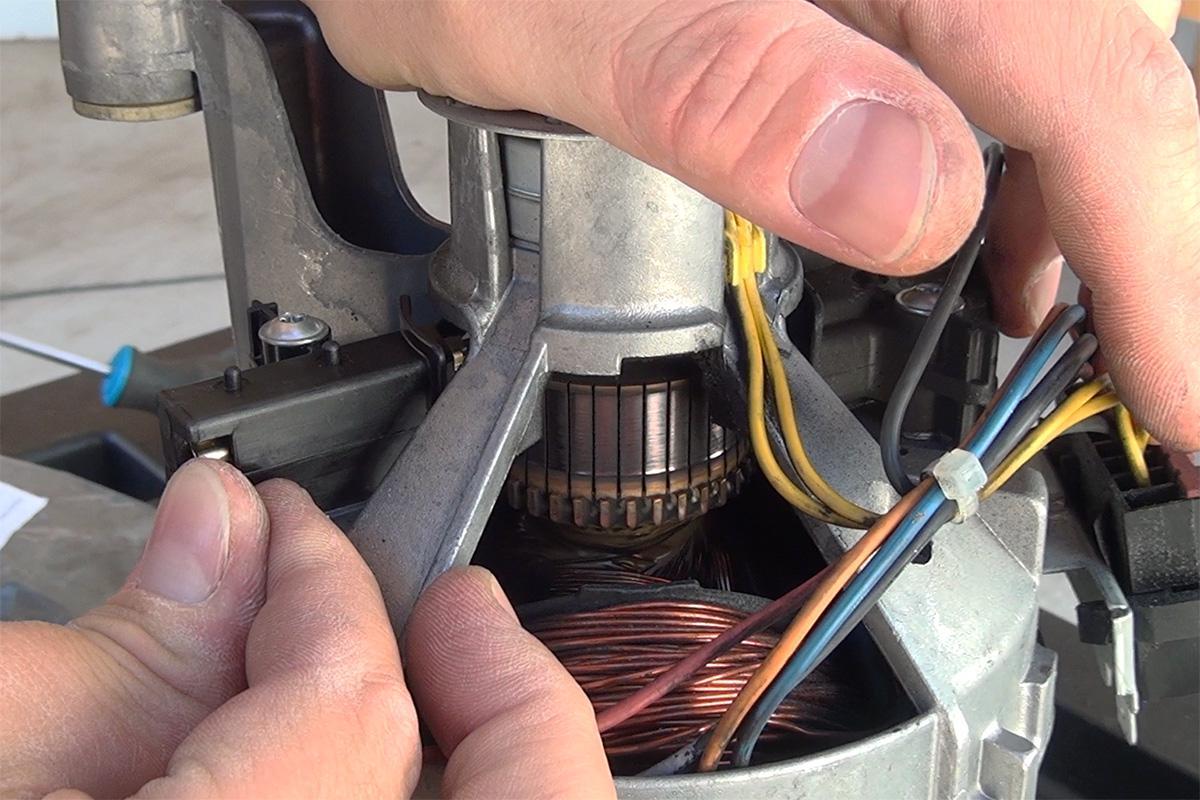 motorkohlen waschmaschine wechseln