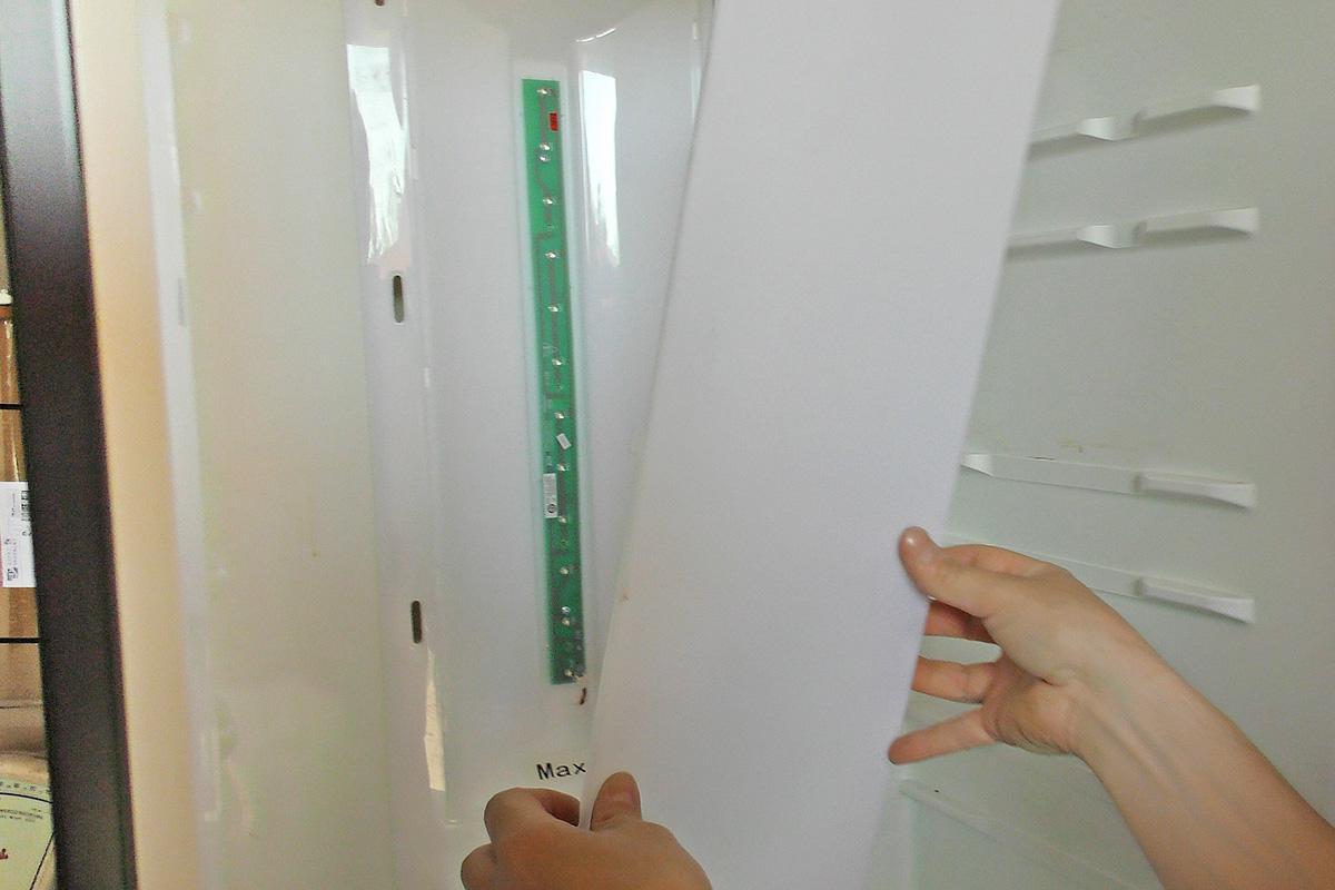 Gorenje Kühlschrank Lampe Wechseln : Kühlschrank led beleuchtung wechseln anleitung @ diybook.de