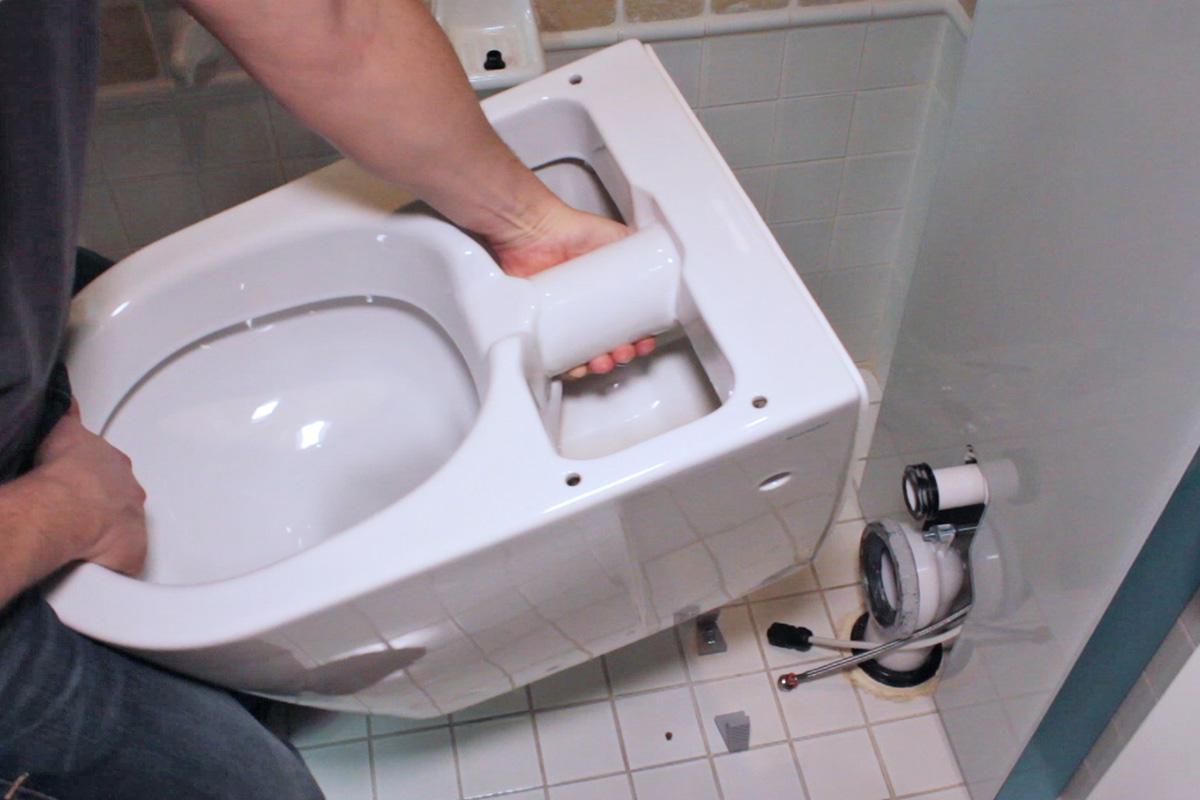 toilette einbauen: aquaclean sela stand-wc - anleitung @ diybook.de