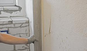 wand ausgleichen anleitung tipps vom maurer maurern. Black Bedroom Furniture Sets. Home Design Ideas