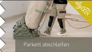 Embedded thumbnail for Parkett abschleifen