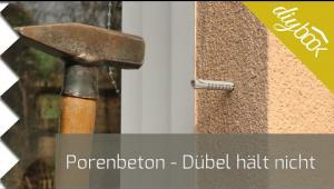 Embedded thumbnail for Porenbeton: Dübel hält nicht