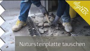 Embedded thumbnail for Natursteinplatten tauschen