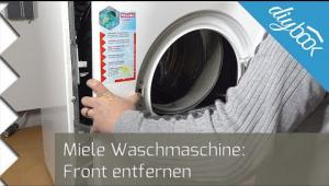 Embedded thumbnail for Miele Waschmaschine: Front entfernen
