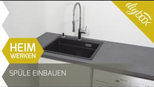 Embedded thumbnail for Blanco Spüle einbauen