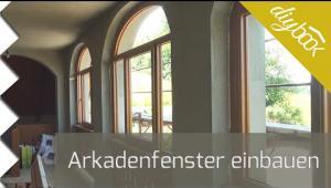 Embedded thumbnail for Arkadenfenster im Außenbereich einbauen