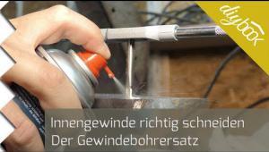 Embedded thumbnail for Innengewinde schneiden - Der Gewindebohrersatz