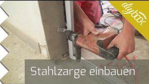 Embedded thumbnail for Stahlzarge selber einbauen