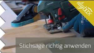 Embedded thumbnail for Werkzeug-Anleitung: Stichsäge bedienen
