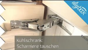 Embedded thumbnail for Liebherr Kühlschrank: Scharnier tauschen