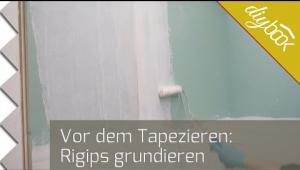 Embedded thumbnail for Tapezieren - Gipskartonplatten grundieren