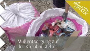 Embedded thumbnail for Müllentsorgung auf der Kleinbaustelle: Big Bag im Test