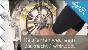 Embedded thumbnail for Waschmaschine: Keilriemen wechseln