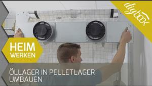Embedded thumbnail for Öllager in Pelletlager umbauen
