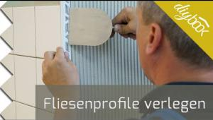 Embedded thumbnail for Fliesenprofile verlegen