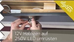 Embedded thumbnail for Halogen auf LED umrüsten