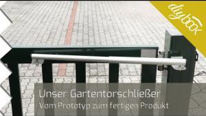 Embedded thumbnail for Unser Gartentorschließer: Von der Idee zum fertigen Produkt