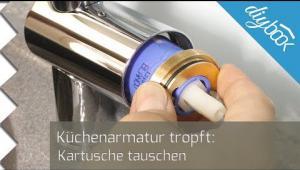 Embedded thumbnail for Küchenarmatur: Kartusche tauschen