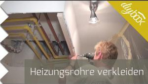 Embedded thumbnail for Heizungsrohre verkleiden - Video