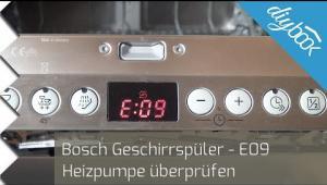 Embedded thumbnail for Bosch Geschirrspüler - Heizpumpe überprüfen