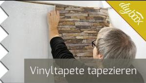 Embedded thumbnail for Vinyltapete tapezieren