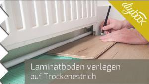 Embedded thumbnail for Laminatboden auf Trockenestrich verlegen