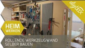 Embedded thumbnail for Verschiebbare Werkzeugwand selber bauen