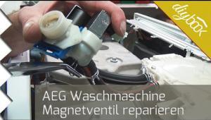 Embedded thumbnail for AEG Waschmaschine - Magnetventil reparieren