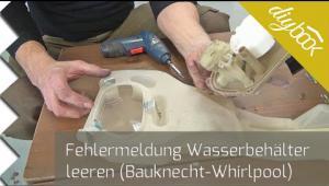 Embedded thumbnail for Trockner Fehlermeldung: Wasserbehälter leeren – Flusensumpf reinigen
