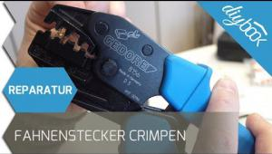 Embedded thumbnail for Fahnenstecker auf Litzenkabel crimpen
