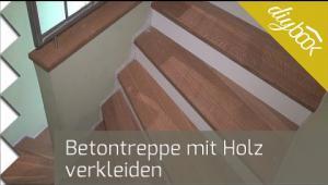 Embedded thumbnail for Betontreppe verkleiden - Video zur Treppenverkleidung mit Holz
