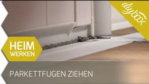 Embedded thumbnail for Parkettfugen ziehen